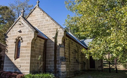 Image:St Michael the Archangel's Church at Wollombi