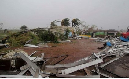 Image:Catastrophic damage reported in Puri after Cyclone Fani