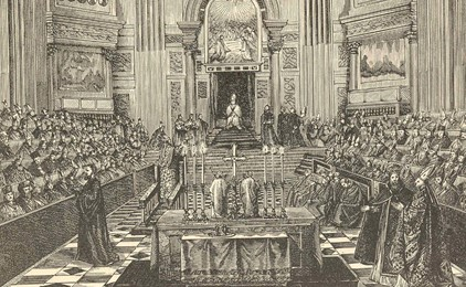 Image:Papal infallibility at the First Vatican Council
