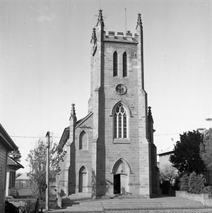 St. John the Baptist Chapel, Maitland. Photo courtesy of the University of Newcastle, Cultural Collections.